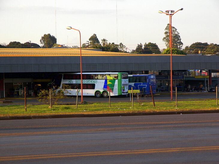 La terminal de Ómnibus de Posadas funciona actualmente con un 30 por ciento de movimiento
