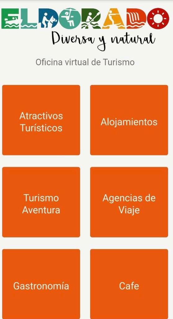 La Dirección de Turismo de Eldorado cuenta con una Oficina Virtual para brindar información a los turistas