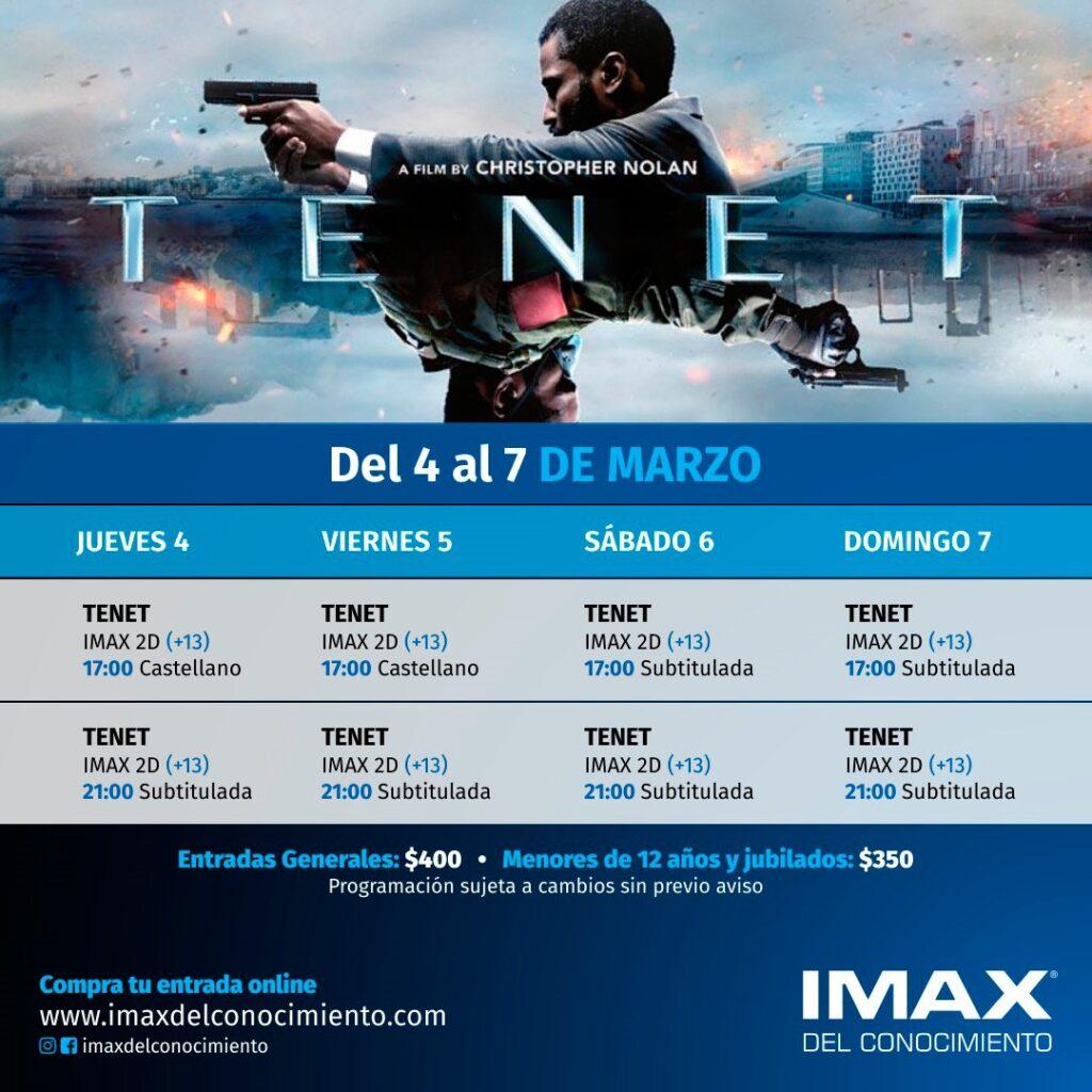 IMAX en verano.