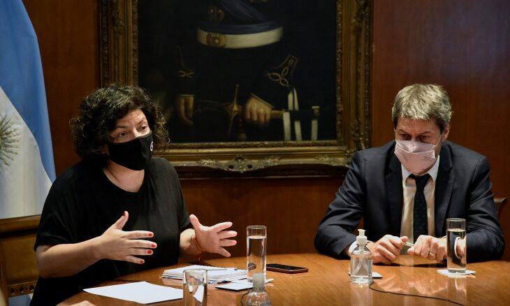 Coronavirus en Argentina: Vizzotti evalúa junto al Ministerio de Turismo las medidas y protocolos para esta Semana Santa