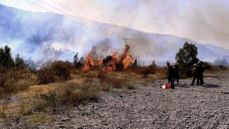 Incendios forestales en Chubut: murió un vecino de Lago Puelo y ya son 3 las víctimas fatales