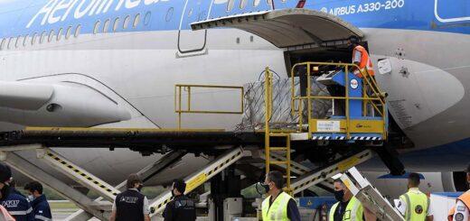 Coronavirus en Argentina: llega esta tarde el avión que trae un nuevo cargamento de vacunas Sputnik V