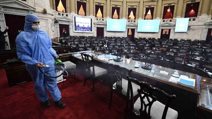 Cristina Fernández dio inicio a la sesión de la Asamblea Legislativa del Congreso de la Nación  y se espera el discurso de Alberto Fernández