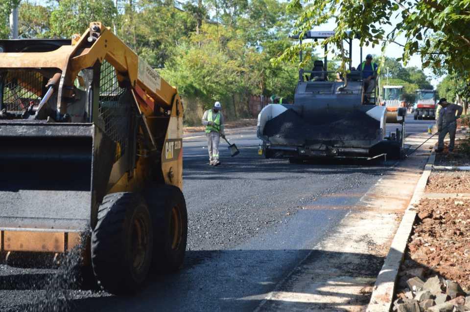 Culminaron importante obra de saneamiento y pavimentación en Posadas