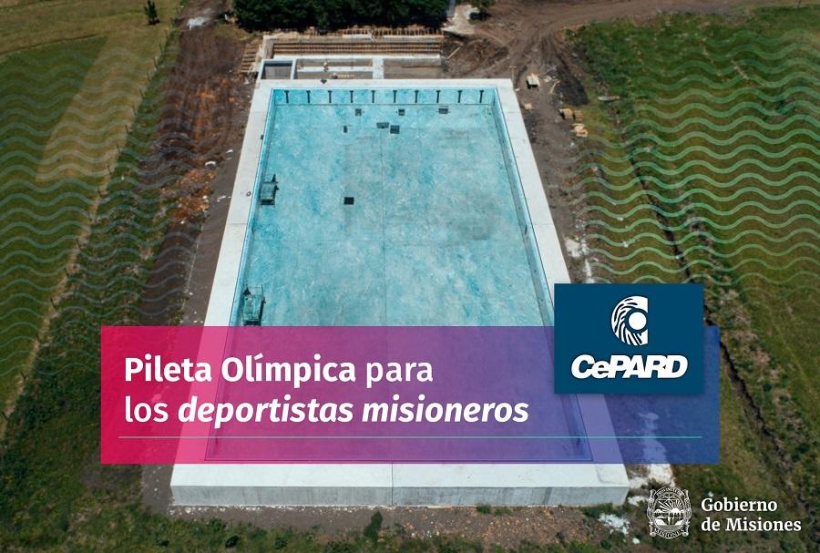 Los nadadores misioneros cada vez más cerca de la pileta olímpica: en 15 días retomarán las obras