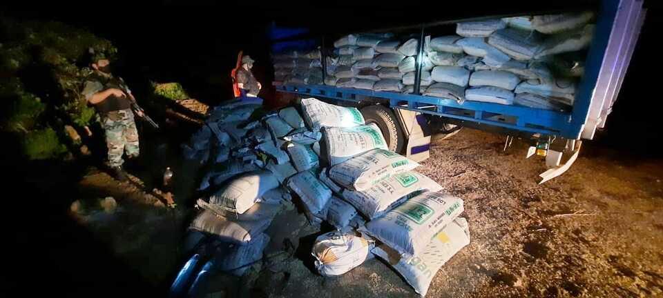 Prefectura incautó más de 11 toneladas de soja ilegal en Misiones
