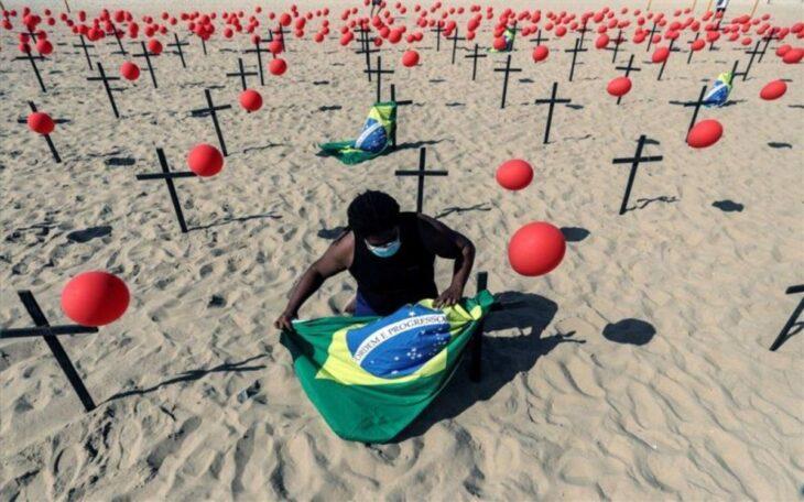 Brasil en colapso sanitario en la mayoría de las ciudades y cada vez con más jóvenes que mueren de COVID-19