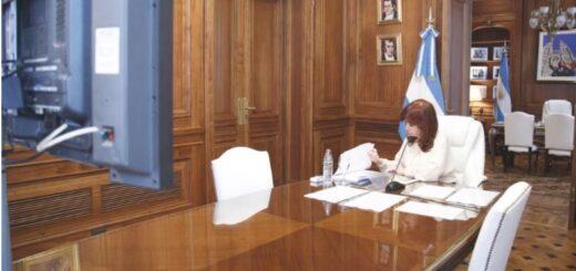 """Cristina Kirchner declaró en la causa dólar futuro y criticó a la Justicia: """"Ustedes son los responsables de que ganara Macri"""""""
