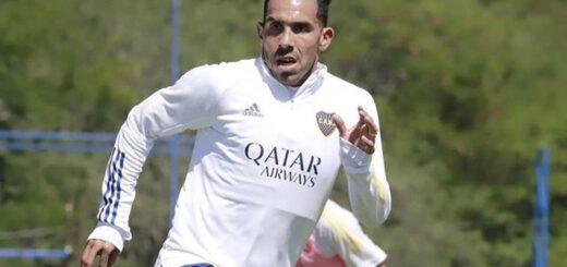 Tras la muerte de su padre, Carlos Tevez se reincorporó a los entrenamientos con Boca