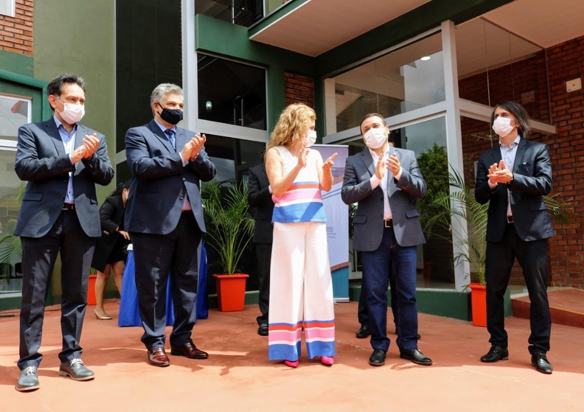 Inauguraron el nuevo Juzgado Universal en Montecarlo