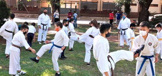 Karate Do de Misiones brindó una clase especial de actualización y perfeccionamiento en Virasoro