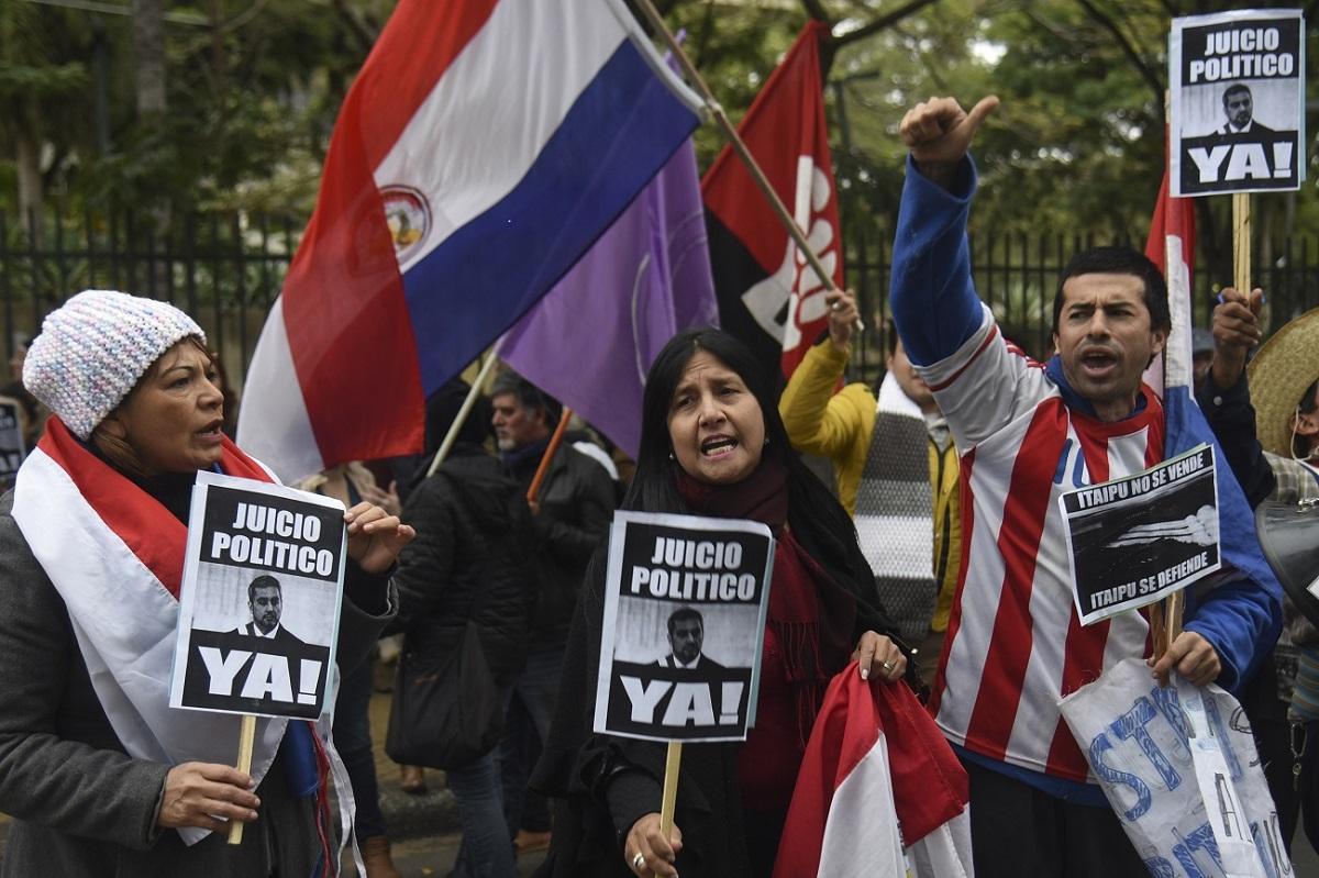 Coronavirus en Paraguay: cambios en el Gabinete de Mario Abdo Benítez y  nueva protesta en las calles - MisionesOnline