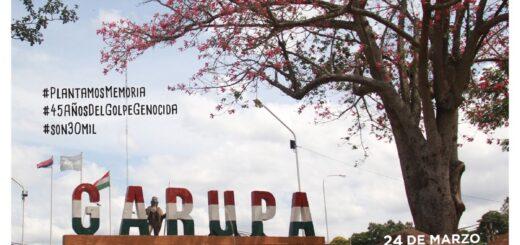 """""""Plantamos Memoria"""": a 45 años del golpe cívico-militar realizarán acto conmemorativo en Garupá"""