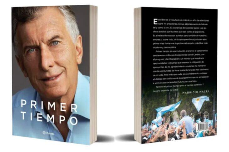 Mauricio Macri lanzó su libro