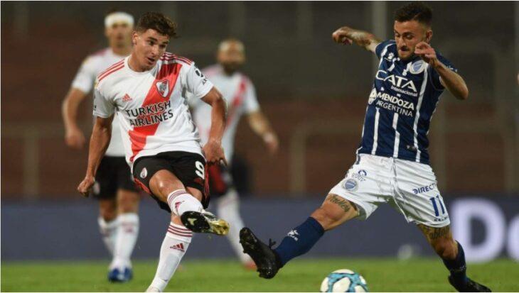 River goleó por 6-1 a Godoy Cruz en Mendoza