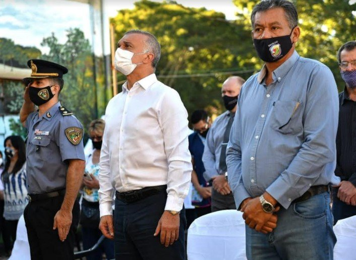 Hipólito Yrigoyen celebró su 67° Aniversario