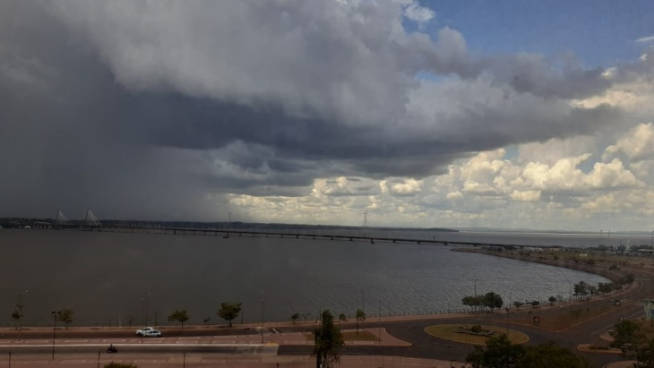 Alerta por fuertes tormentas y posibilidad de caída de granizo en Posadas para esta tarde