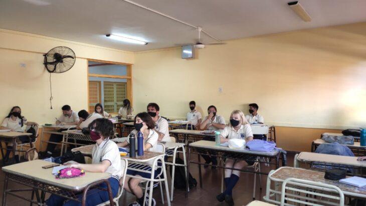 Vuelta a clases en Misiones: docentes de las escuelas técnicas celebraron la presencialidad