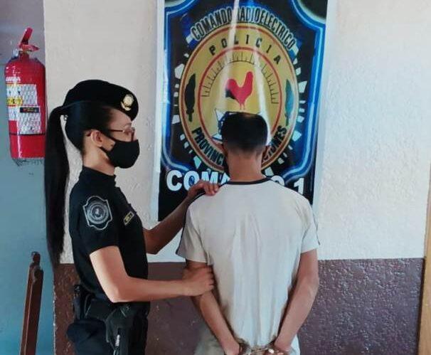 Fue detenido en Posadas por robarle la documentación a su ex pareja