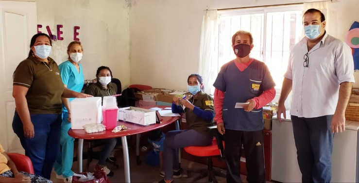 Iniciaron la vacunación contra el coronavirus en las Comunidades Guaraníes de Misiones