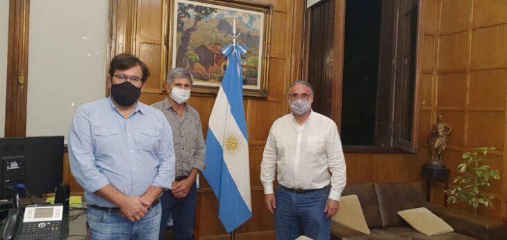Sector yerbatero: el presidente del INYM se reunió con el Ministro de Agricultura y la Secretaría de Comercio Interior