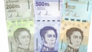 un millon de bolivares