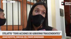 """Anahí Repetto elogió la gestión de Stelatto en Posadas y apuntó a la regularización de tierras """"como una de las obras más trascendentes"""""""