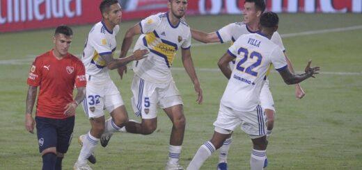 Boca erró un penal en el último minuto e igualó con Independiente 1-1