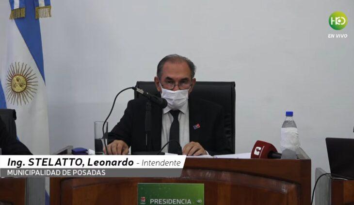 """Vea el discurso completo del intendente Leonardo """"Lalo"""" Stelatto en la apertura de las Sesiones Ordinarias del Concejo Deliberante de Posadas"""