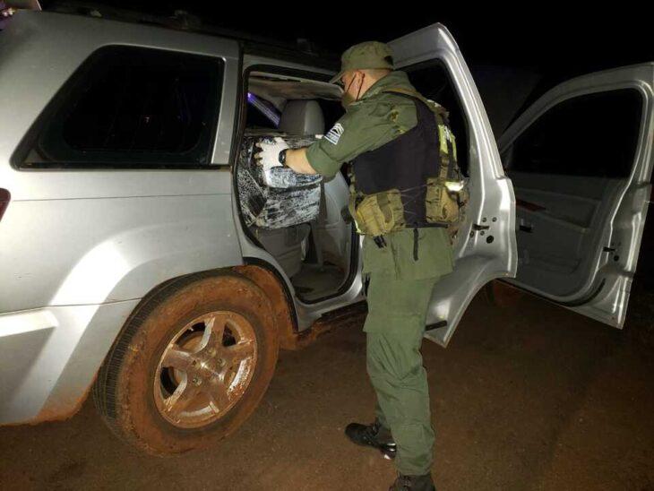 Interceptan un cargamento de más de 570 kilos de marihuana en el peaje Santa Ana