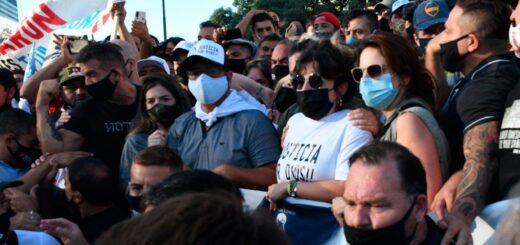 Dalma Maradona explicó por qué tuvieron que irse de la marcha para pedir justicia por la muerte de Diego