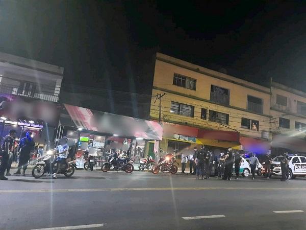 Desorden y agresión frente a un bar dejó seis detenidos en Posadas