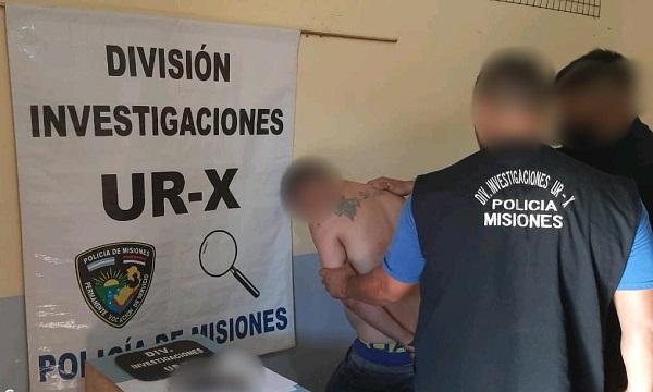 Posadas: lo denunciaron por herir a un vecino con un arma de fuego, atacó a policías y terminó detenido