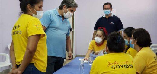 Vacunación en Misiones: este viernes continúa la campaña de inmunización a docentes en Posadas