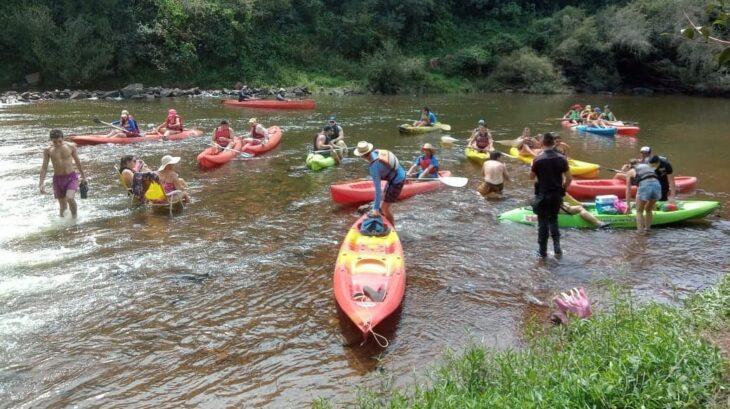 El Soberbio tuvo gran convocatoria en las actividades realizadas con el objetivo de celebrar el Día Mundial del Agua