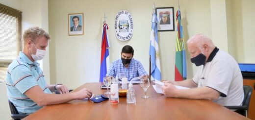 Eldorado: el intendente firmó un convenio de cooperación académica con la Fundación Huellas Misioneras
