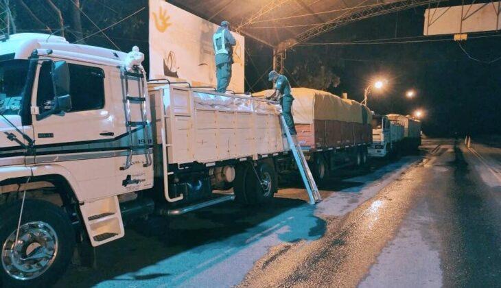 Contrabando de soja: Vivar recordó que la provincia denunció ante la Justicia Federal el delito