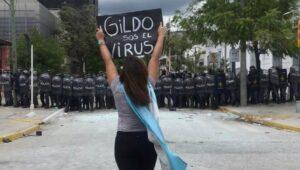 Protesta en Formosa