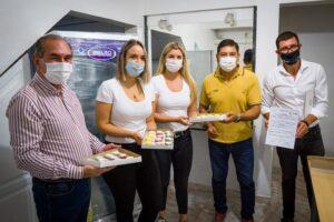 IFAI y la Municipalidad de Posadas entregaron equipamientos a jóvenes emprendedoras