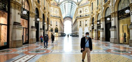 El gobierno de Italia ordenó un nuevo confinamiento parcial
