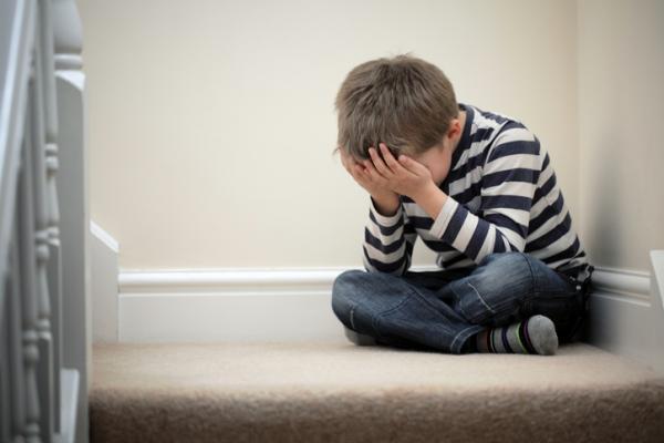 depresion niños