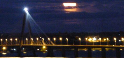 El mes de Marzo se despide con una Luna de Gusano, la primera superluna del año
