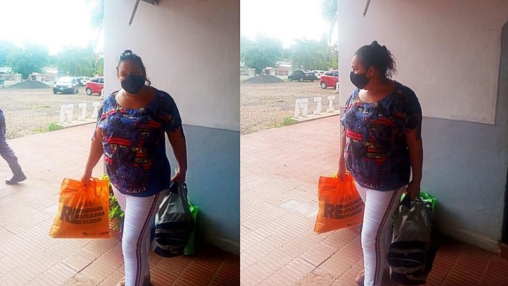 María Ovando salió de la cárcel el 23 de febrero