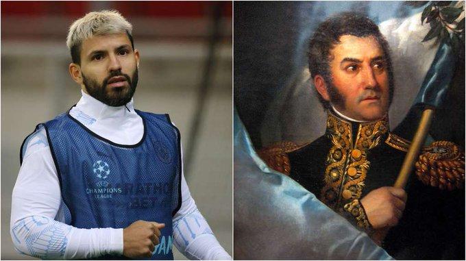 """El Kun Agüero se olvidó el nombre de San Martín y puso en duda el cruce de los Andes: """"Nadie lo vio"""""""