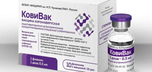 Rusia pone en circulación su tercera vacuna contra el coronavirus