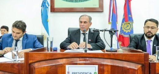 El intendente Stelatto inaugura el periodo de sesiones ordinarias del Concejo Deliberante de Posadas