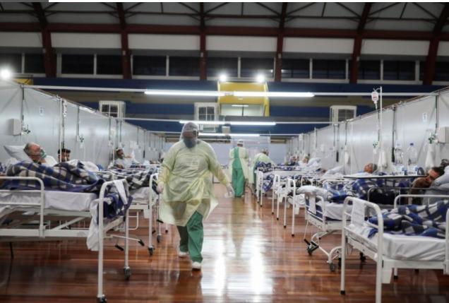 Brasil: empezó a colapsar la terapia intensiva de San Pablo