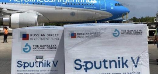 Coronavirus: hoy llega al país el décimo vuelo de Aerolíneas Argentinas con más vacunas Sputnik V