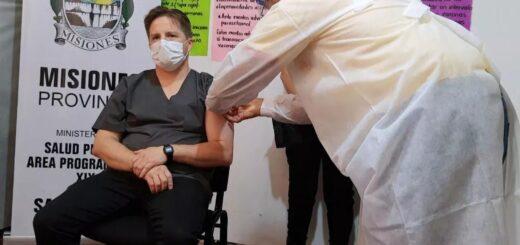 A partir de mañana, Misiones continuará vacunando al personal del sistema educativo