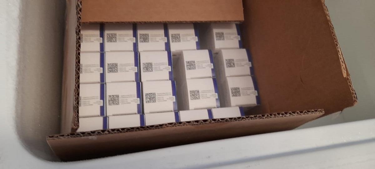 Llegaron 10.800 vacunas Sputnik V componente 1 a Misiones